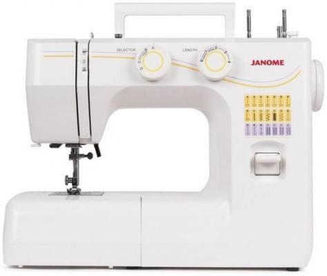 лучшая цена Швейная машина Janome 1143 белый