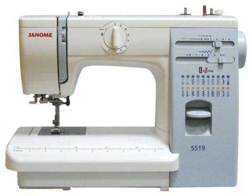 Швейная машина Janome 5519 цена и фото