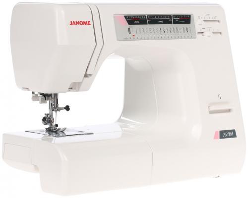 Швейная машина Janome 7518 A белый швейная машинка janome dresscode