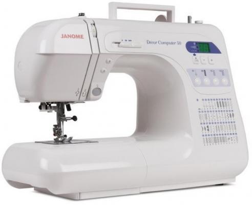Швейная машина Janome DC 50 белый цена