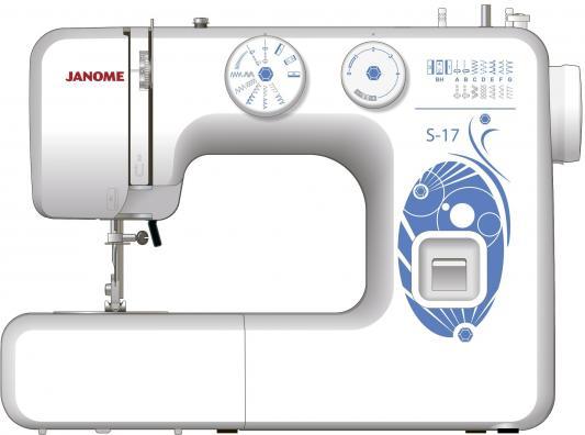 Швейная машина Janome S-17 белый цена и фото