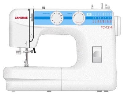 Швейная машина Janome TC 1214 белый цена и фото