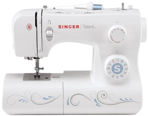 Швейная машина Singer Talent 3323 белый [супермаркет] джингдонг сингер singer швейная машина бытовая электрическая многофункциональная 5511