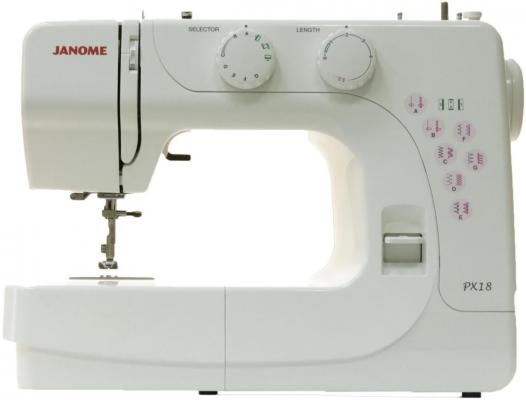 Швейная машина Janome PX 18 белый недорго, оригинальная цена