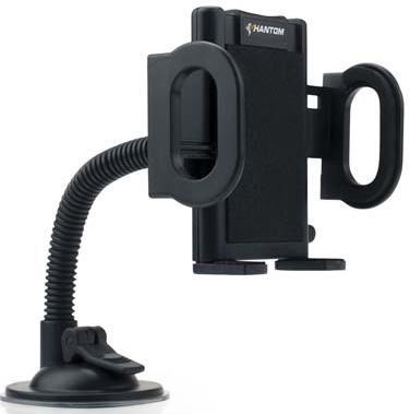 Автомобильный держатель Phantom PH6270 для смартфонов на гибкой ножке черный