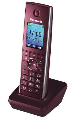 Радиотелефон DECT Panasonic KX-TGA855RUR красный трубка к телефонам серии KX-TG85хx