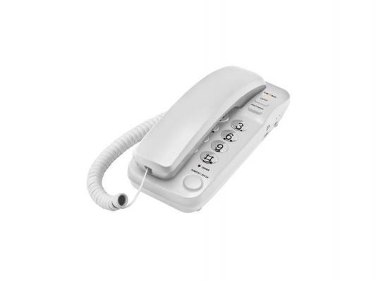 Телефон проводной Texet ТХ-226 светло-серый