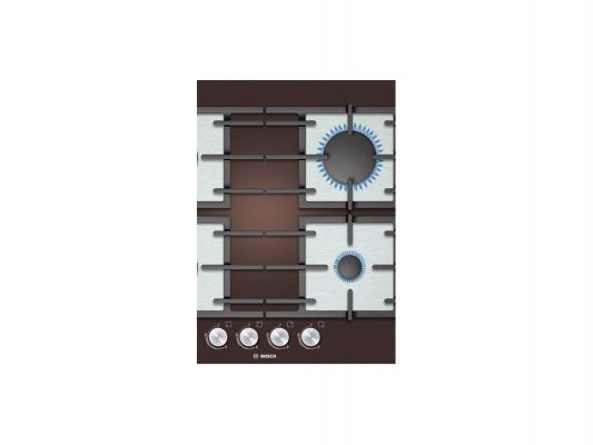 Варочная панель газовая Bosch PPP614B91R коричневый
