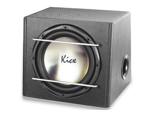 """Сабвуфер Kicx ICQ 301BPA динамик 12"""" 30см 300-550Вт 4Ом"""