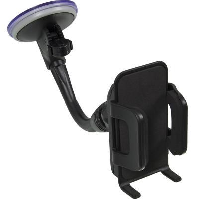 Автомобильный держатель Phantom PH6381 для смартфонов черный 148128 автомобильный держатель phantom ph5267 для смартфонов черный 140525