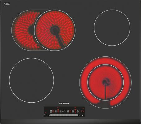 Варочная панель электрическая Siemens ET651FN17R черный