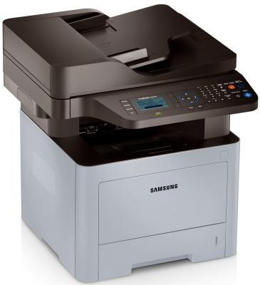 МФУ Samsung SL-M3870FD/XEV ч/б A4 38ppm 1200x1200dpi факс USB Ethernet пылесос samsung sc4474 vcc4474s3o xev