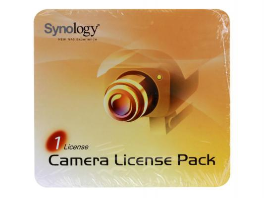 Лицензия Synology Camera License Pack 1 для подключения 1 ip-камеры LICENSEPACK1