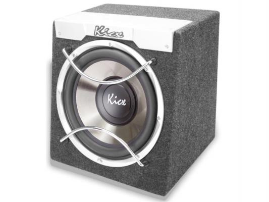 Сабвуфер Kicx ICQ-250BA динамик 10 25см 200-400Вт 4Ом колонки kicx icq 694