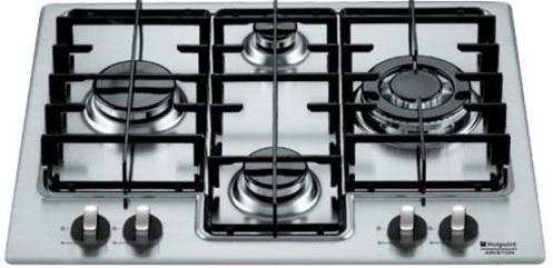Варочная панель газовая Ariston 7HPC 640 T X серебристый