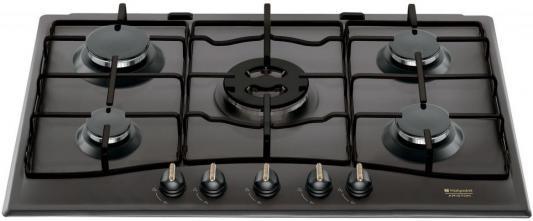 Варочная панель газовая Ariston PC 750 T (AN) R /HA черный