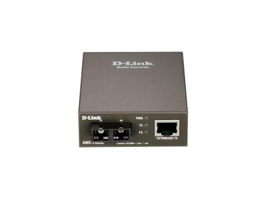 Медиаконвертер D-LINK DMC-F60SC/A1A Fast Ethernet Twisted-pair to Fast Ethernet Single-mode Fiber 60km SC Media Converter