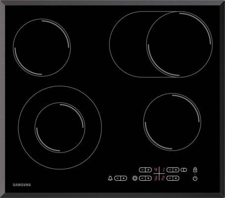 Варочная панель электрическая Samsung C61R1CCMN черный