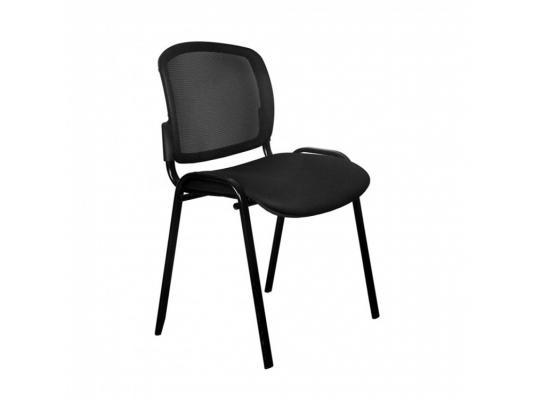 Стул Buro Вики/B/15-21 спинка сетка черный сиденье черный 15-21