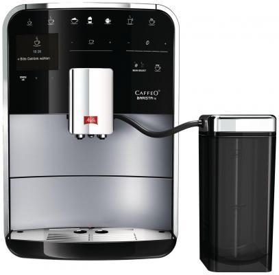 Кофемашина Melitta Caffeo Barista TS F 750-101 серебристый