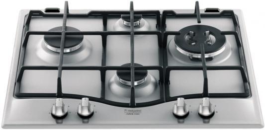 Варочная панель газовая Ariston 7HPC 640 X серебристый