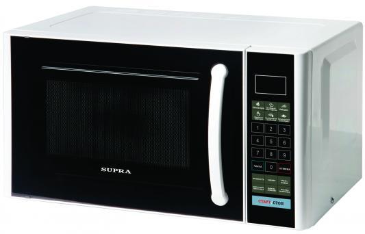 СВЧ Supra MWG-2120SW 800 Вт белый чёрный