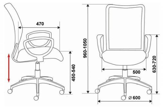 Кресло Buro CH-599/DB/TW-10N спинка сетка темно-синий TW-05N сиденье темно-синий TW-10N 10n hao 4n0