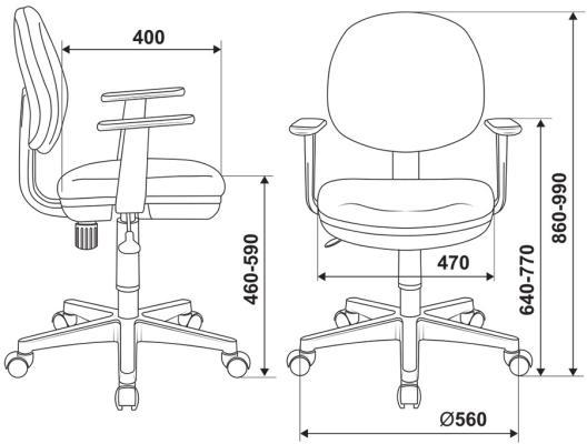 Кресло Buro Ch-W356AXSN 15-118 белый пластик ткань светло-зеленый 15-118 ch w356axsn blue