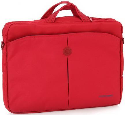 Сумка для ноутбука 15 Continent CC-01 нейлон красный