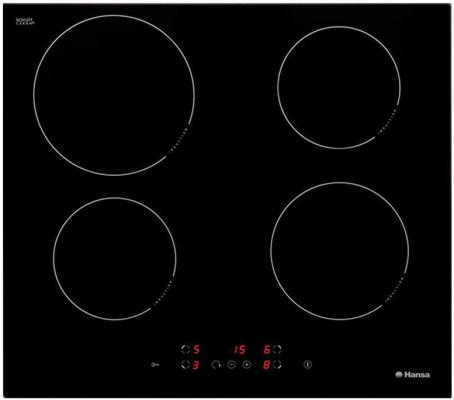 Варочная панель электрическая Hansa BHI68300 черный