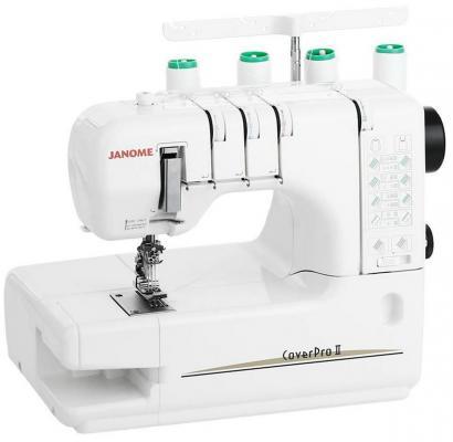 Швейная машина Janome Cover Pro 2 белый швейная машина janome cover pro 2 белый