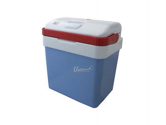 Холодильник автомобильный термоэлектрический CW Unicool 25   (объём 25L, охлаждение до минус 20°C от t° окружающей среды, нагрев до плюс 60°C, корпус автомобильный холодильник электрогазовый unicool deluxe – 42l