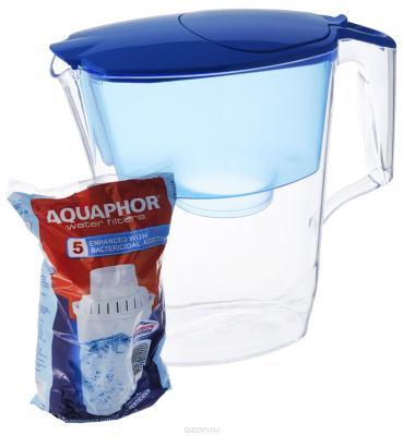 Фильтр для воды Аквафор УЛЬТРА кувшин синий
