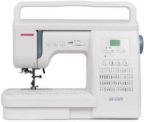 все цены на Швейная машина Janome QC 2325 белый онлайн