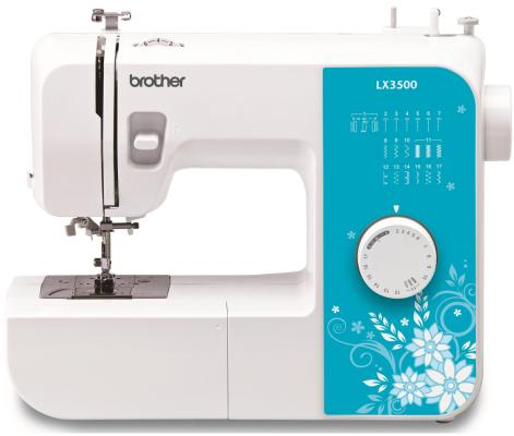 Швейная машина Brother LX-3500 бело-голубой швейная машина brother lx 3500 белый