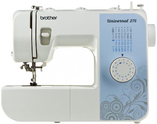 Швейная машина Brother Universal 27S бело-голубой все цены