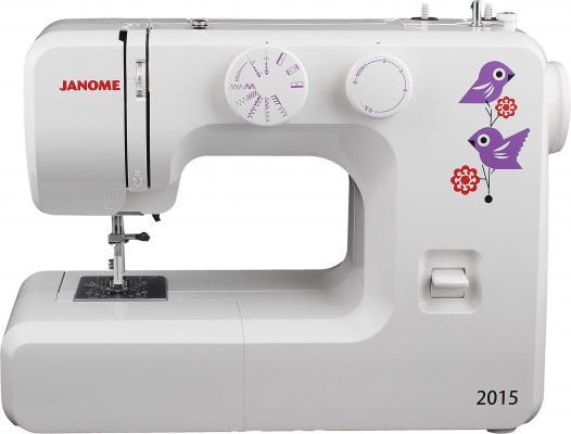 Швейная машина Janome 2015 белый 2015 wat498