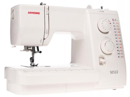Швейная машина Janome SE 522 белый швейная машинка janome dresscode