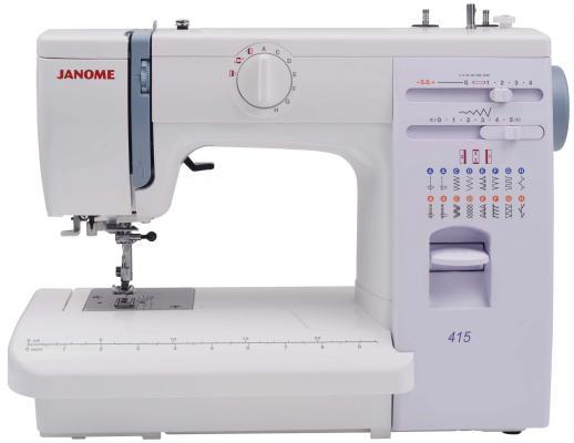 Швейная машина Janome 415 белый швейная машина vlk napoli 2400