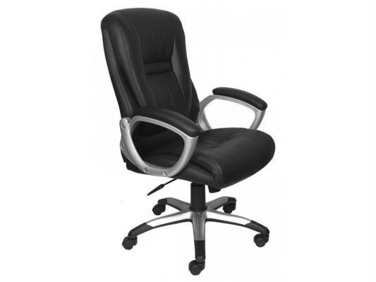 Кресло Buro CH-875S/Black черный искусственная кожа пластик серебро кресло buro ch 825s black rd черный красный искусственная кожа пластик серебро