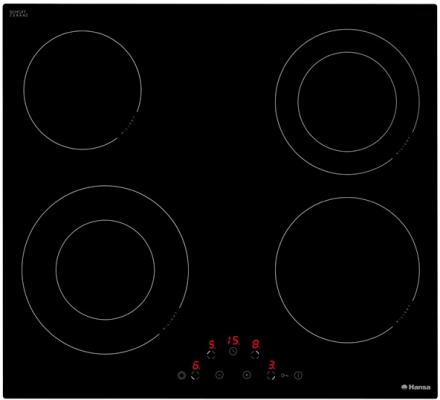 Варочная панель электрическая Hansa BHC63506 черный варочная панель электрическая hansa bhiw 68303 белый