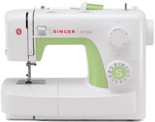 Швейная машина Singer Simple 3229 бело-зеленый singer simple 3229