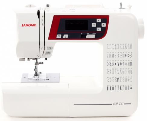Швейная машина Janome 603 DC белый цена