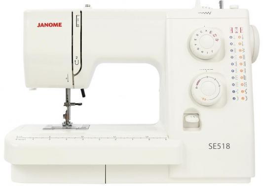 все цены на Швейная машина Janome SE 518 белый онлайн