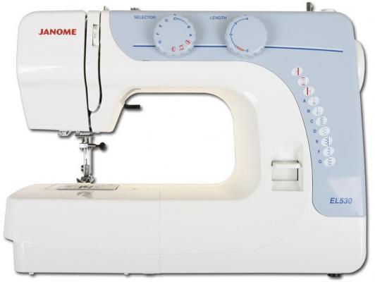 Швейная машина Janome EL530 серый швейная машина janome el530