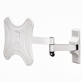 Кронштейн HAMA H-108741 L белый для ЖК ТВ до 46 настенный VESA 200x200 max 25 кг кронштейн для тв hama h 108736 white