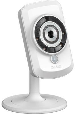 """Камера IP D-Link DCS-942L/A4B//B1A CMOS 1/5"""" 640 x 480 H.264 MJPEG RJ-45 LAN Wi-Fi белый"""