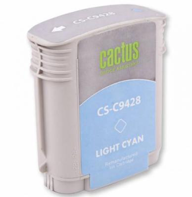 Картридж Cactus CS-C9428 №85 для HP DJ 30/130 светло-голубой 72мл картридж cactus cs c9426 85 для hp dj 30 130 пурпурный 29мл