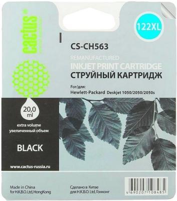 купить Картридж Cactus CS-CH563 №122XL для HP DeskJet 1050/2050/2050s черный недорого