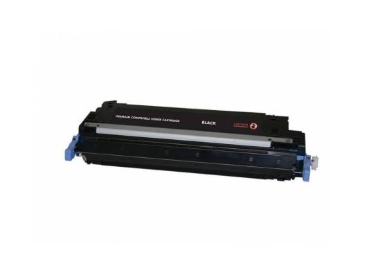 Тонер-картридж Cactus CSP-Q6470A PREMIUM для HP Color LaserJet CP3505/3600/3800 черный 6000стр aerocool 15 blade 1 56w mute model computer cpu cooling fan black 12 x 12cm 7v